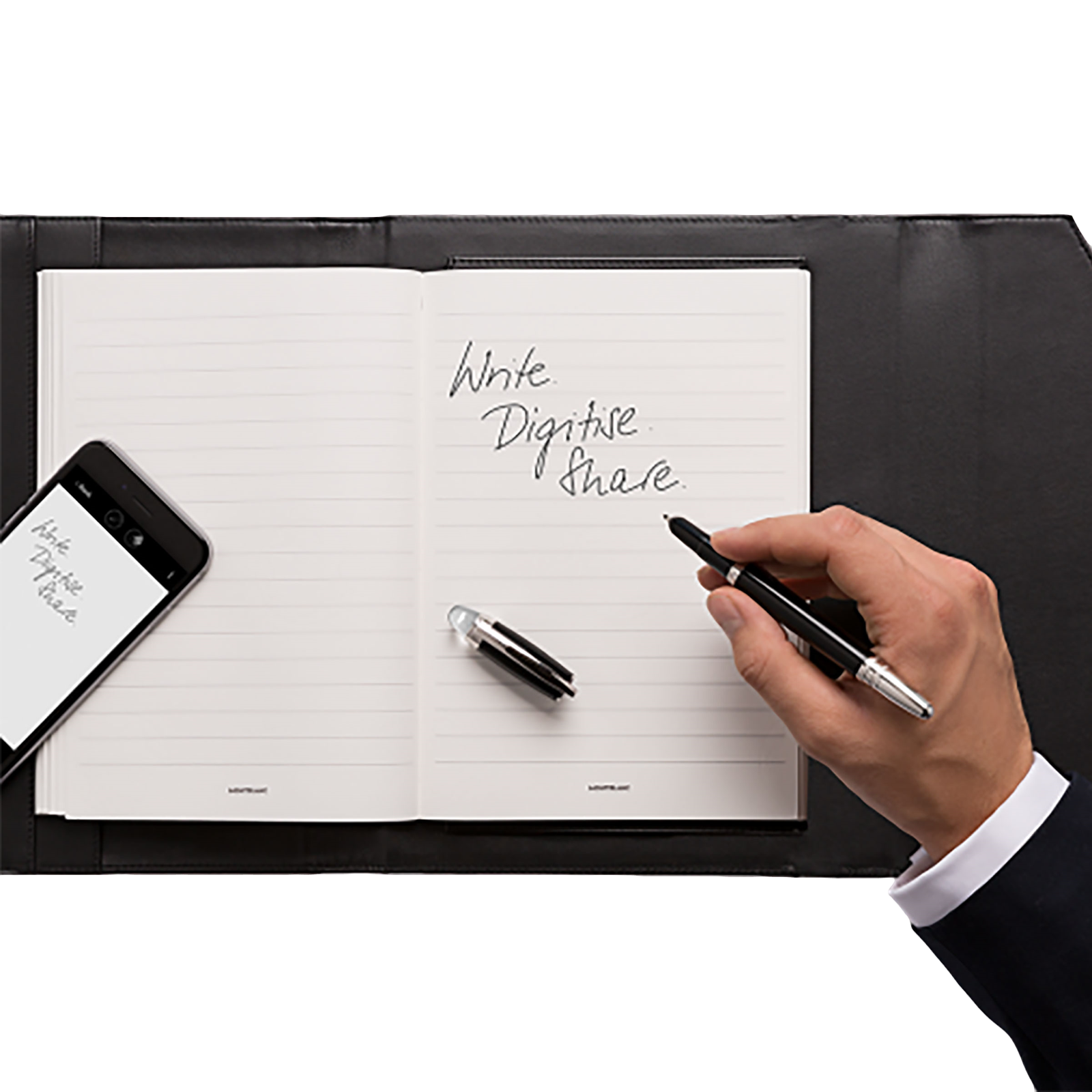 Augmented Paper, Montblanc Writing Instruments